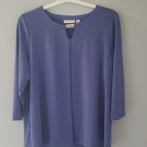 Susan Graver liquid knit top